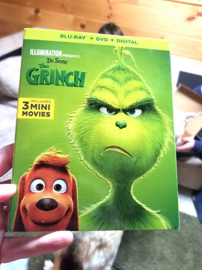 The Grinch Family Movie Bluray