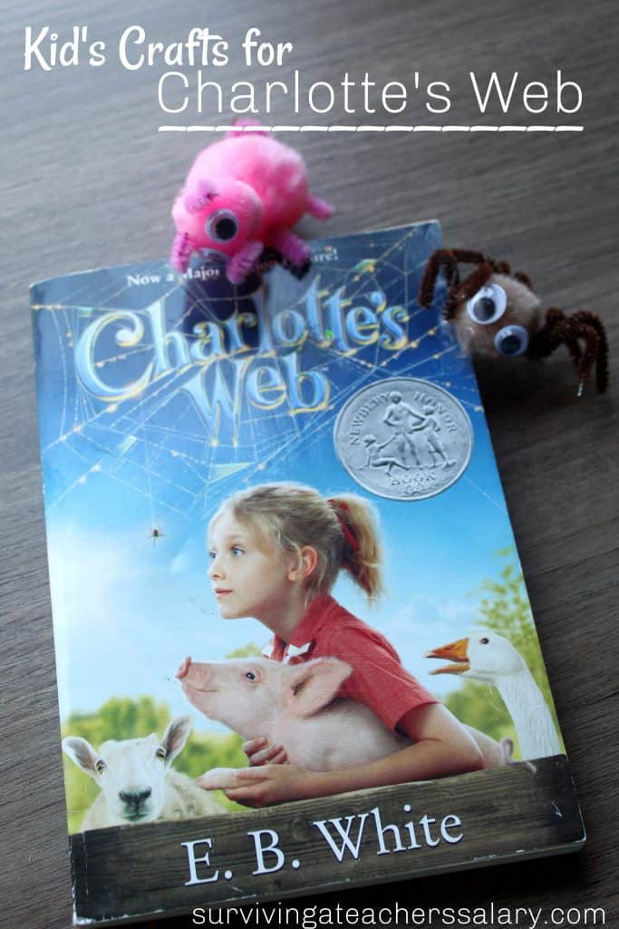 children's book Charlotte's Web craft