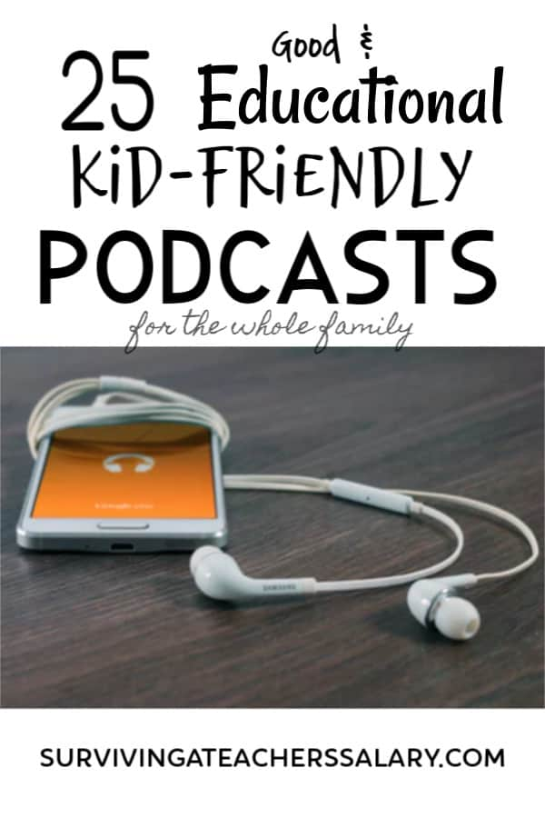 kid-friendly podcasts for the family