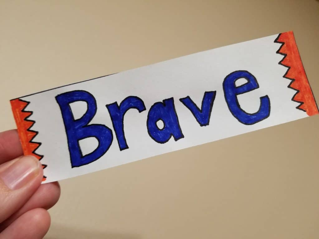 Be Brave Bookmark