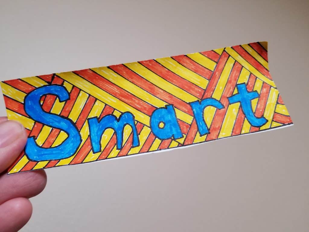 Be Smart Bookmark