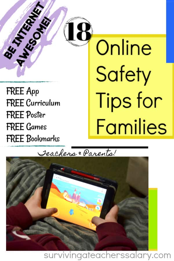 online safety tips for families