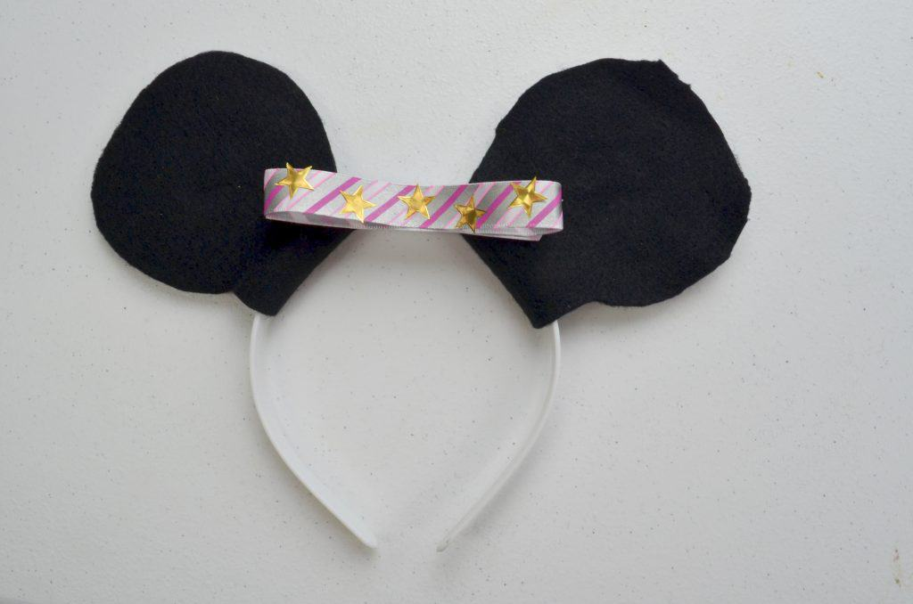 homemade minnie mouse ears