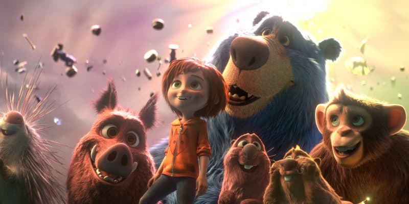 Wonder Park movie image bear girl