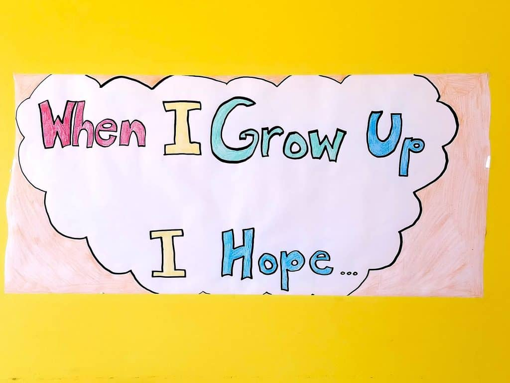 when i grow up i hope banner