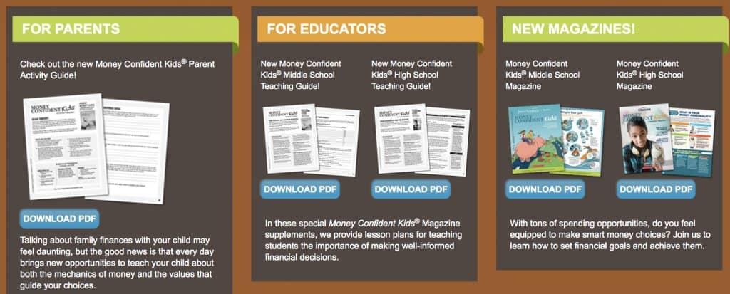 Money Confident Kids for Parents Teachers