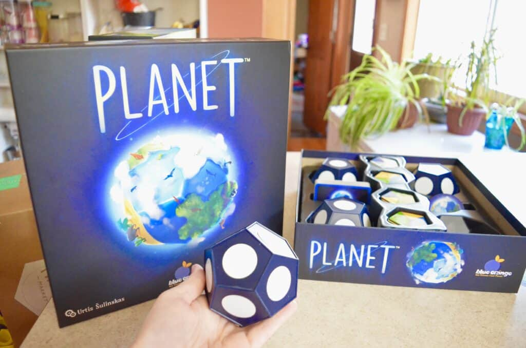 Educational Science Strategy Game Planet by Blue Orange Games Review