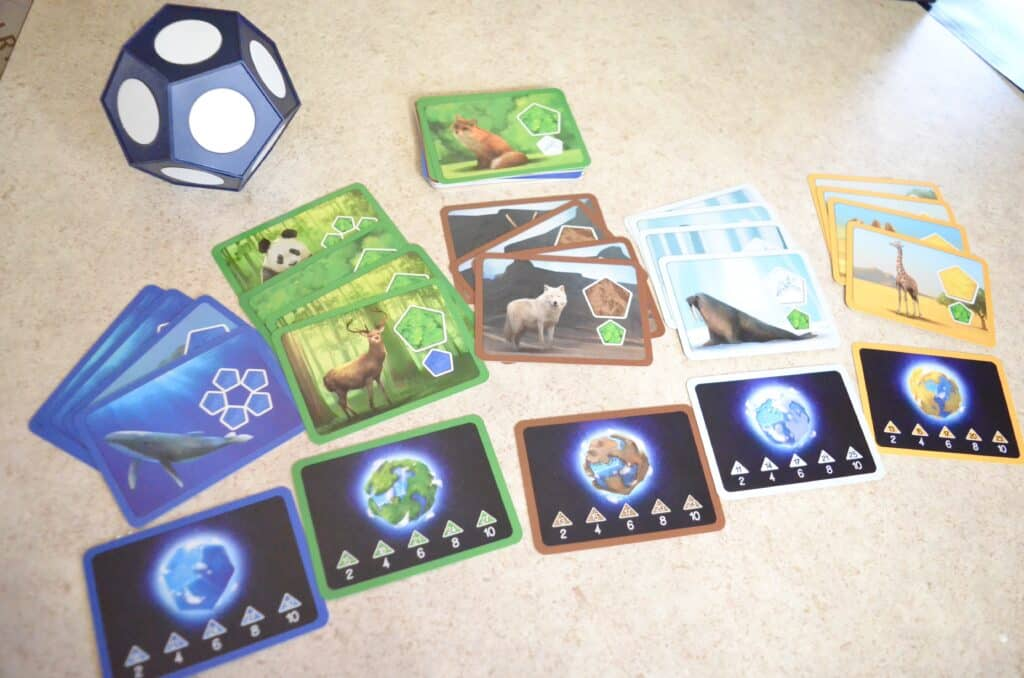 strategy cards for Planet by Blue Orange Games Review