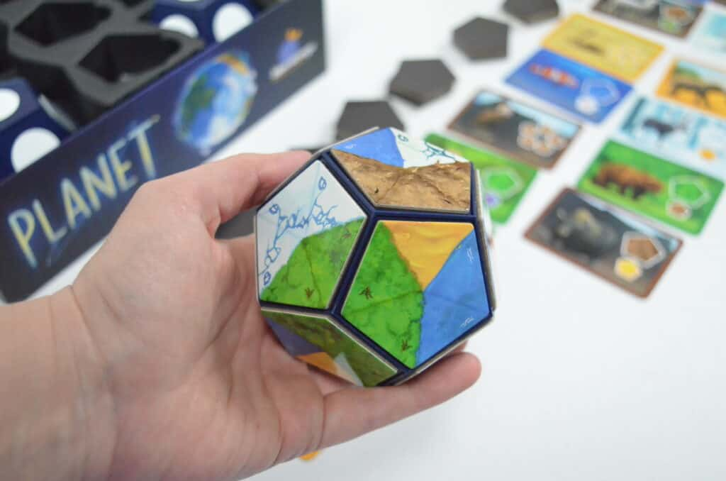 magnetic planet core for Planet board game