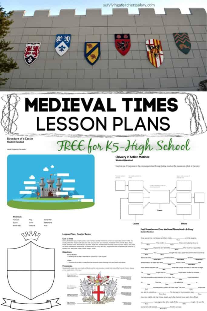 Medieval Lesson Plans for teachers