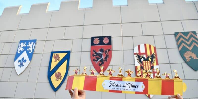 outside Medieval Castle