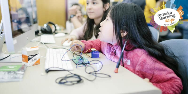 girls STEM technology