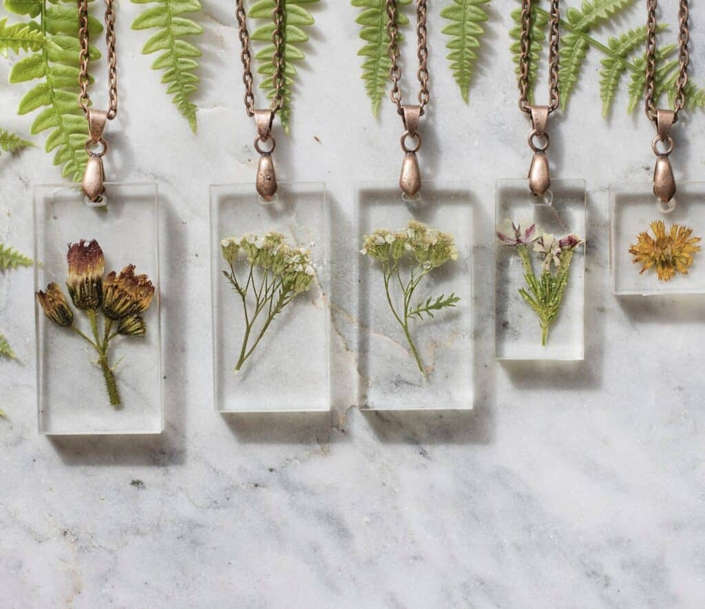 Nature Fern Necklace