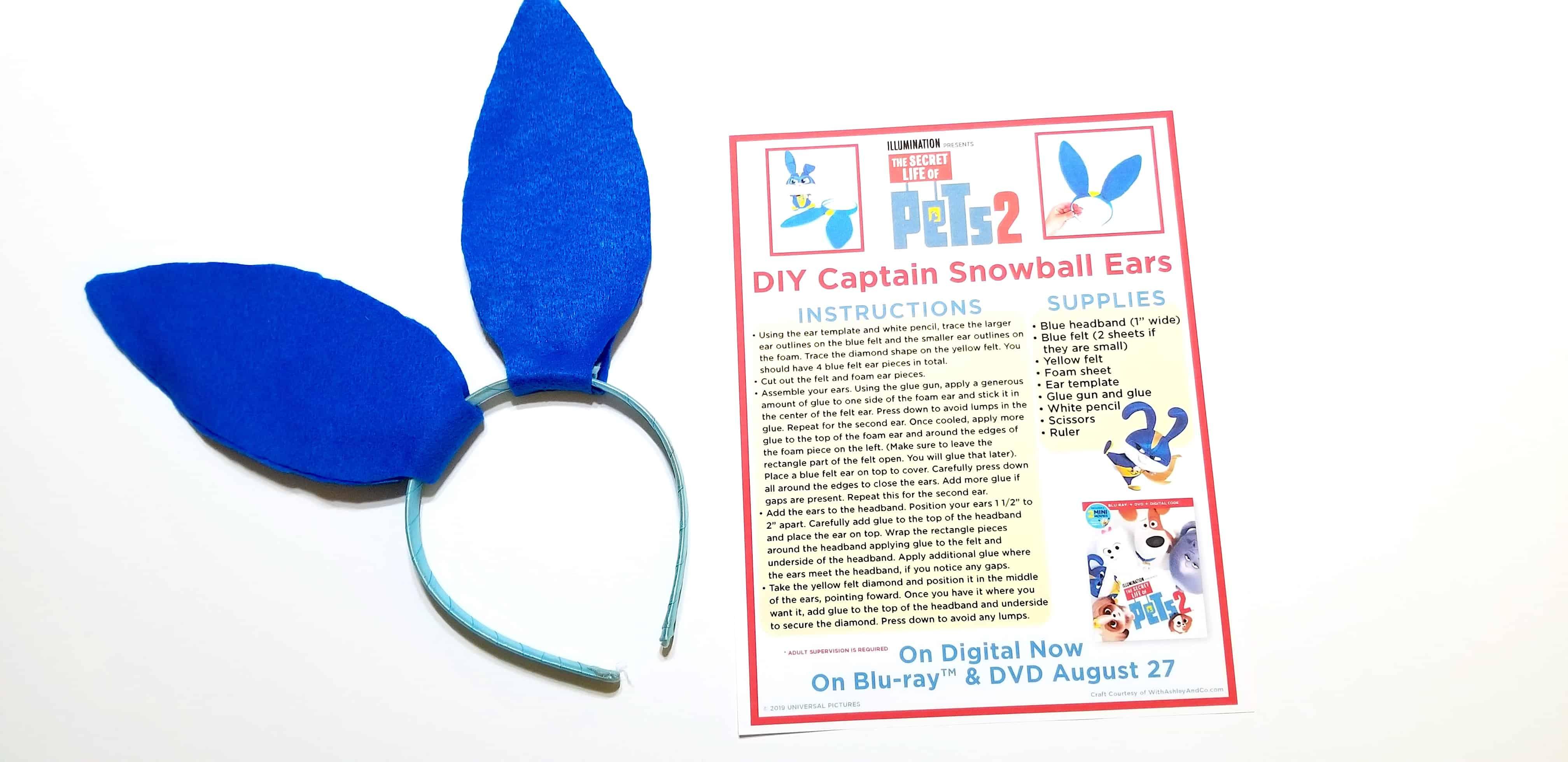 Secret Life of Pets Daisy Mini Pony clip Hairbow Digital template