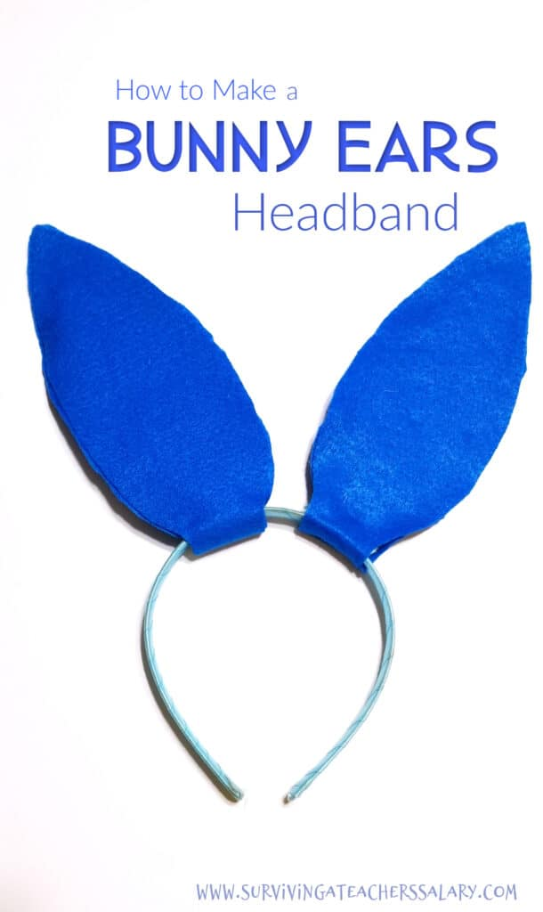 Bunny Ears Headband Tutorial