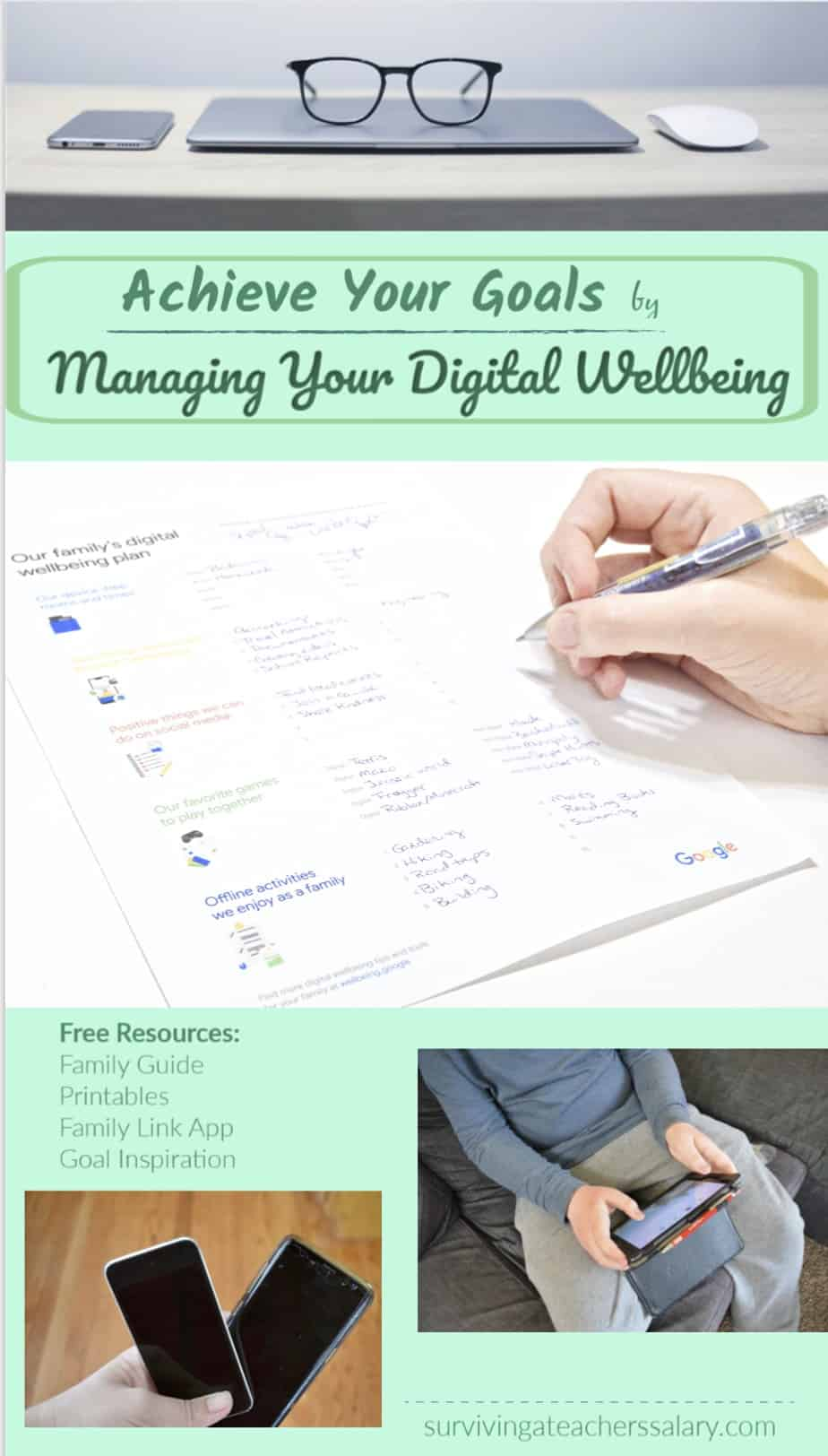 manage digital wellbeing with Google Family Guide