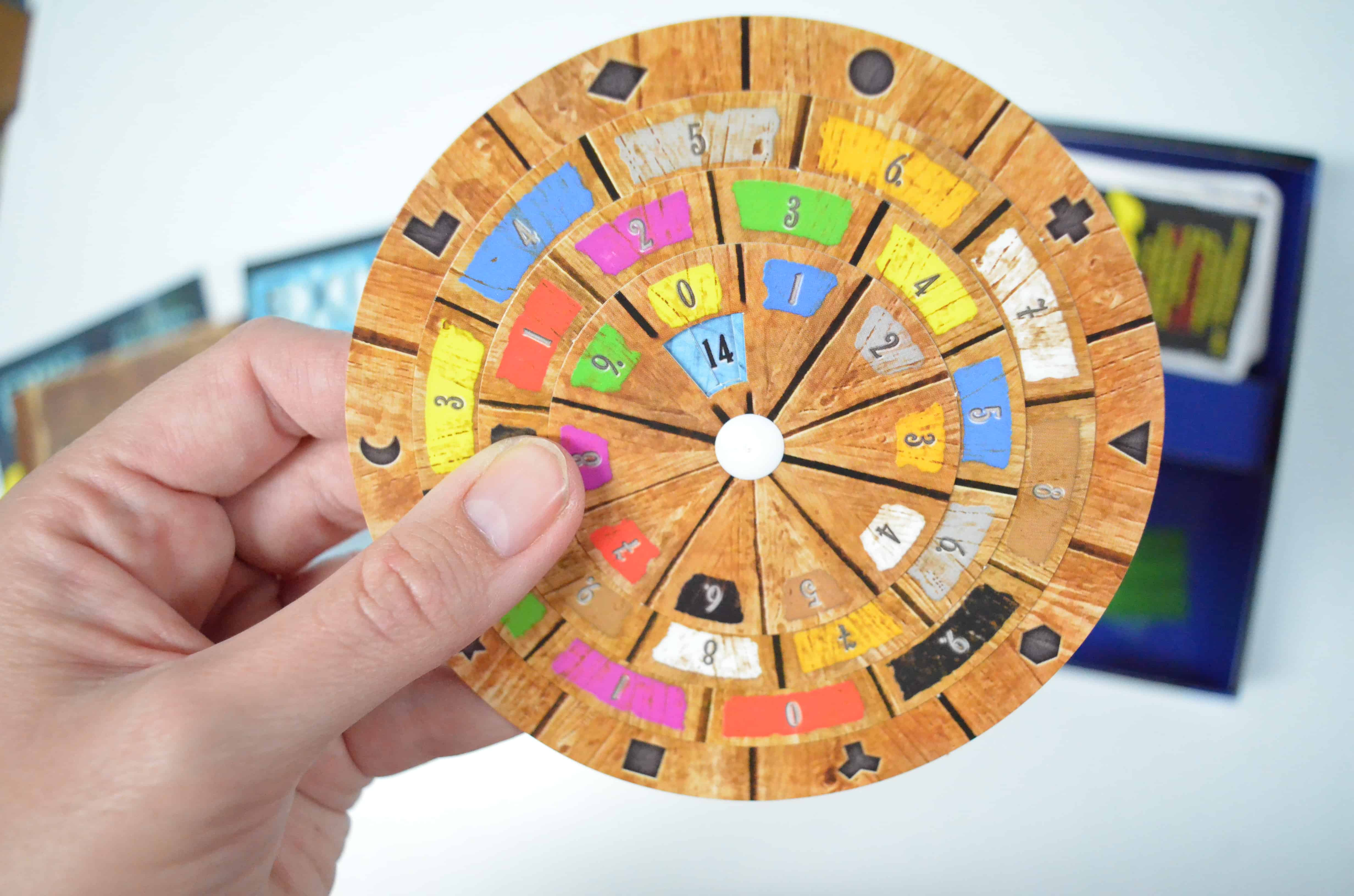 decoding wheel EXIT: The Game series
