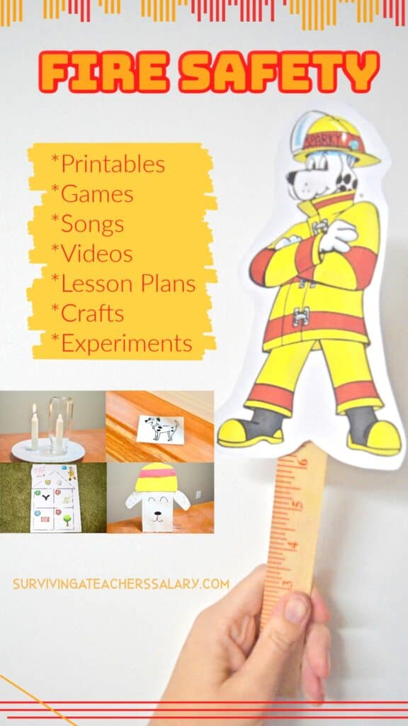 Fire Safety for Kids - 30 Activities for Fire Prevention Month