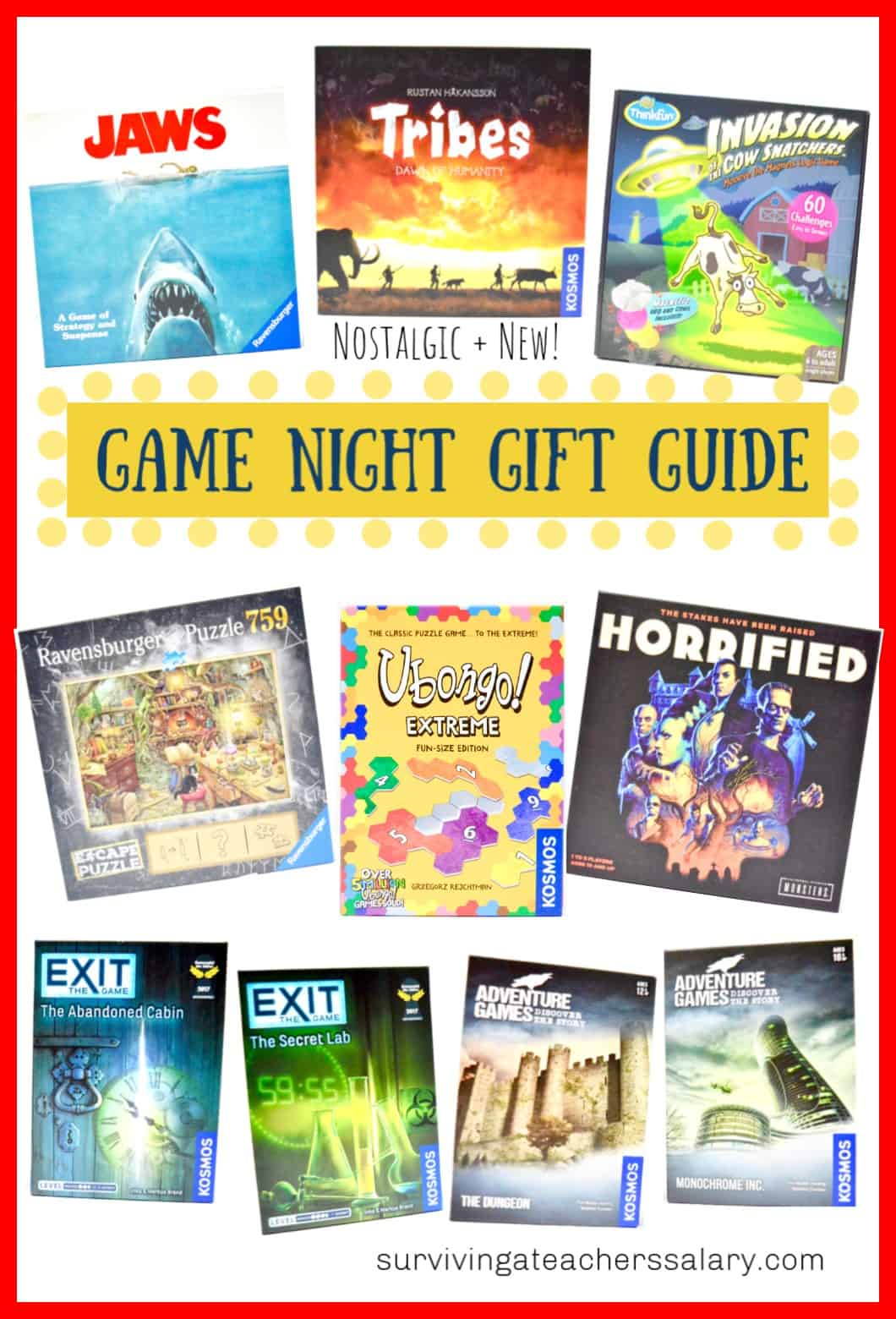 Game Night Games & Unique Puzzles Gift Guide