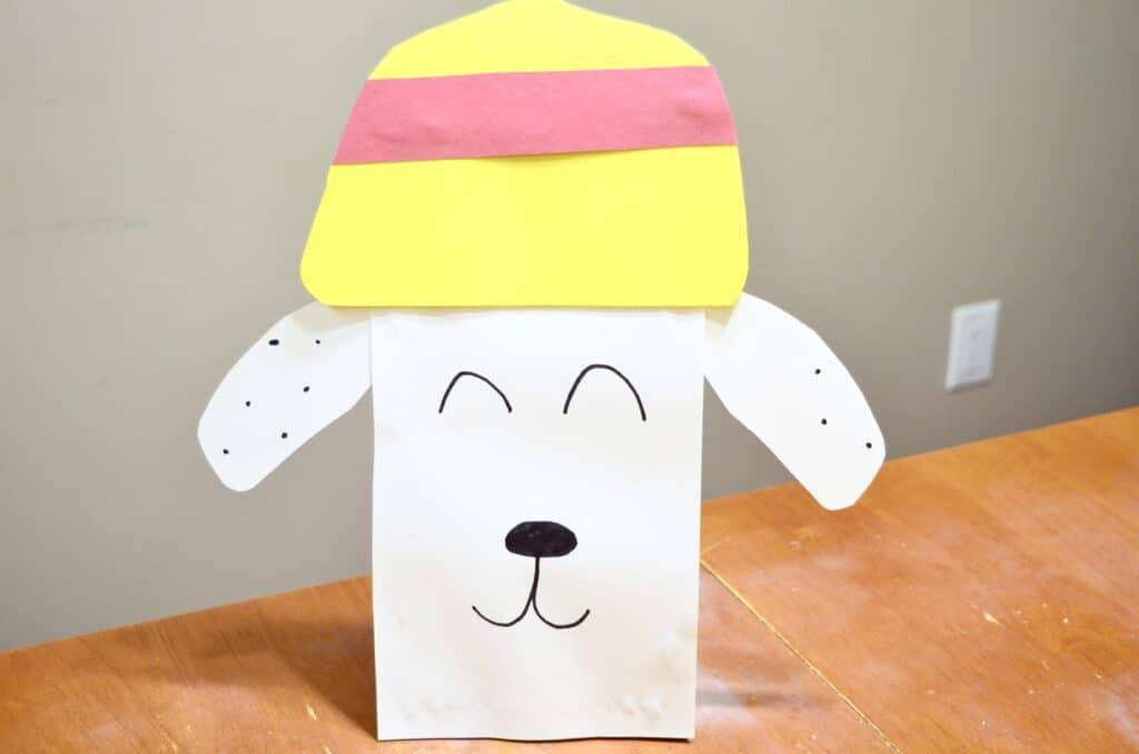 Sparky Fire Dog craft