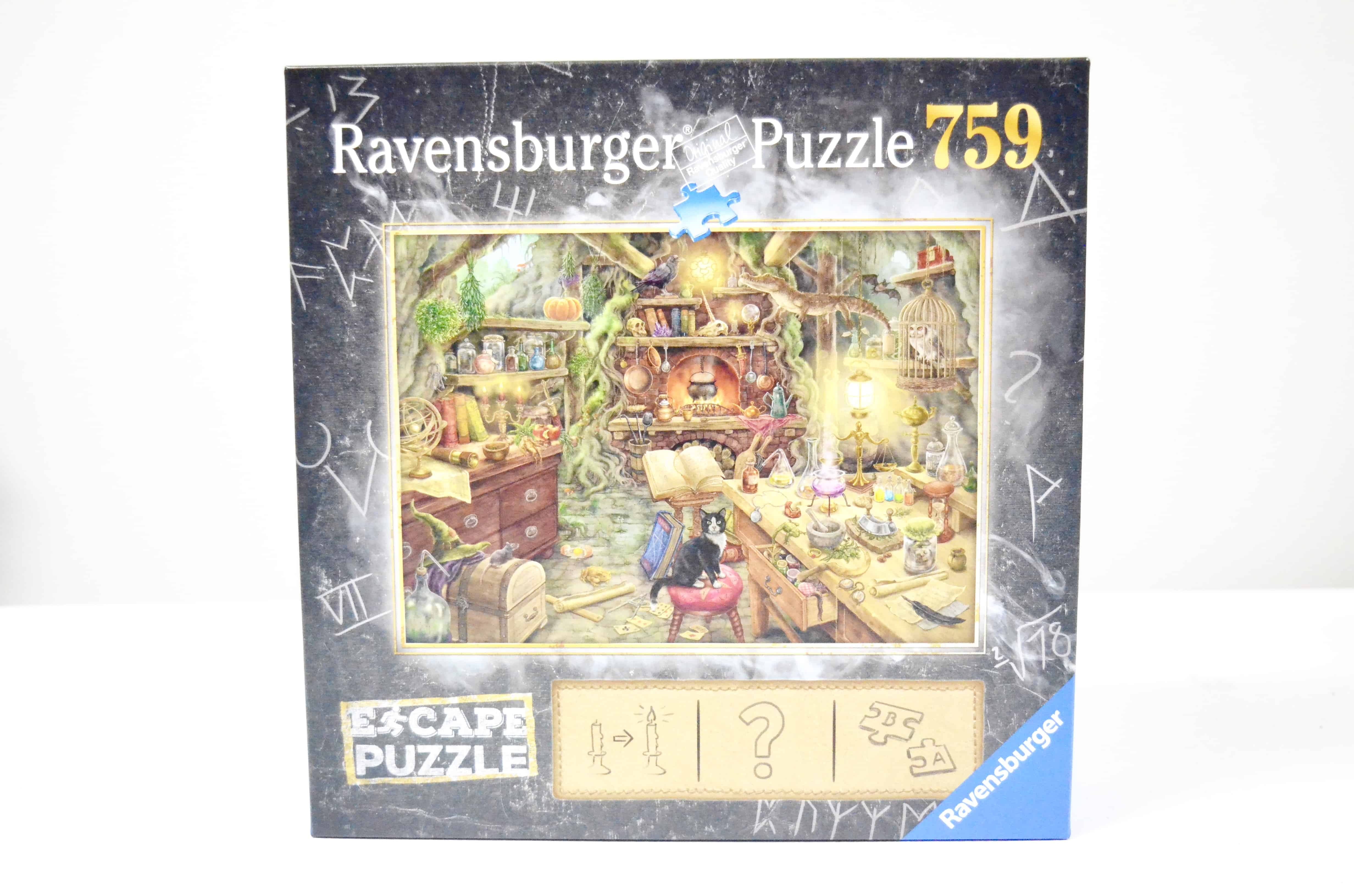 Escape Room + Puzzle in One! Escape Puzzles by Ravensburger