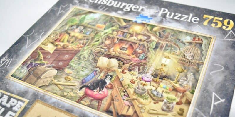 Ravensburger Escape Puzzle 759 Witch's Lair Kitchen