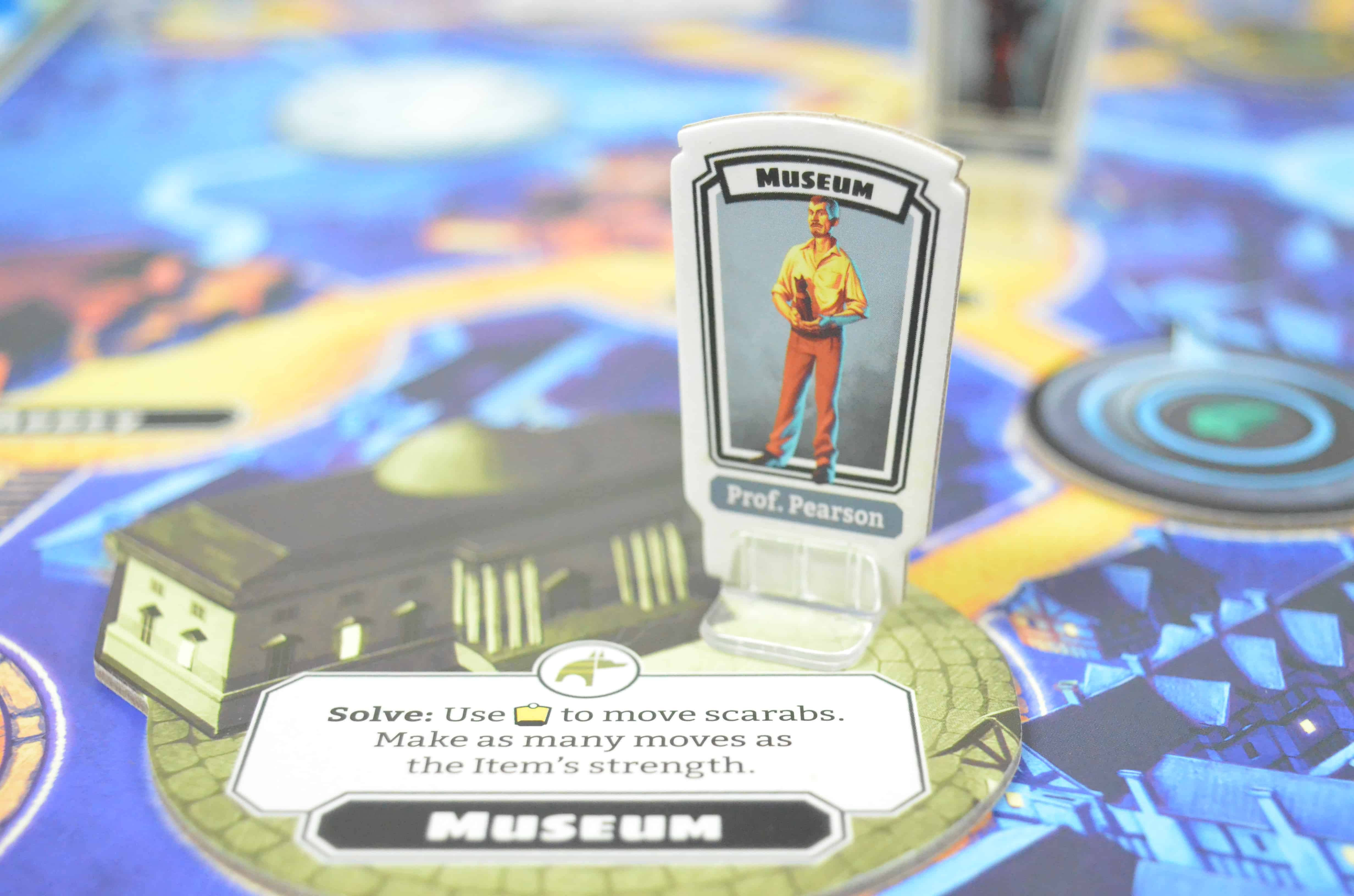 close up horrified universal monsters board game night review