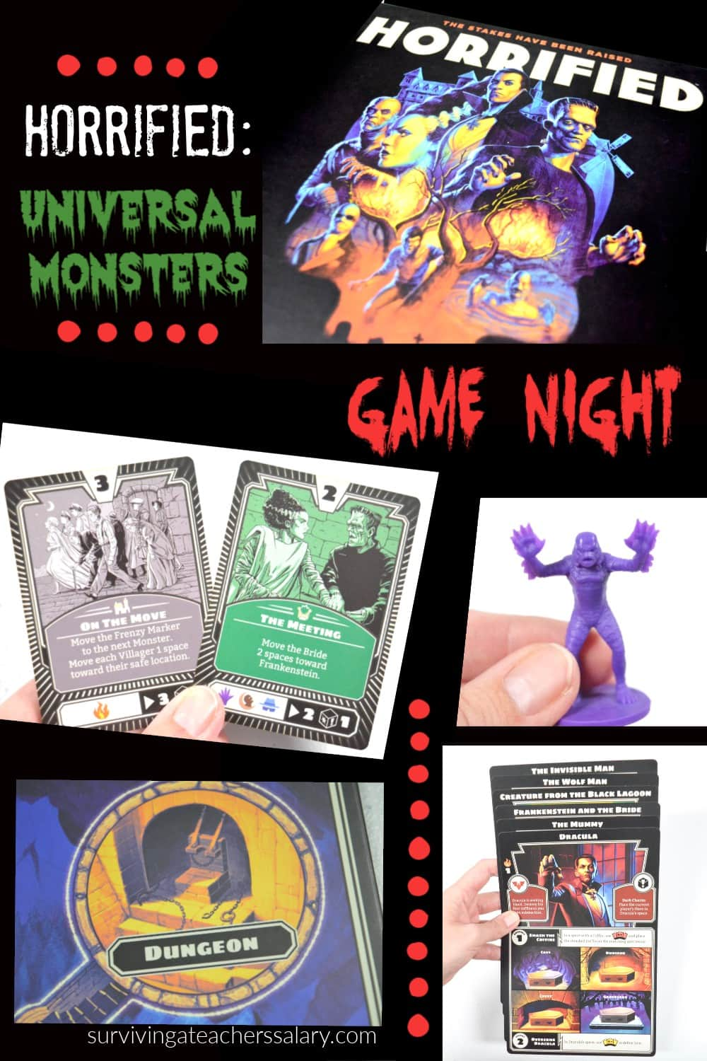 How to Play the Horrified: Universal Monsters Game by Ravensburger