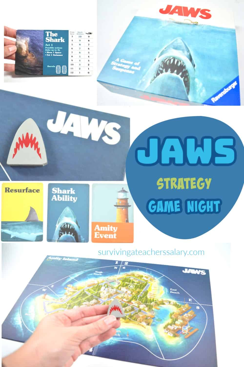 How to Play the JAWS Board Game by Ravensburger