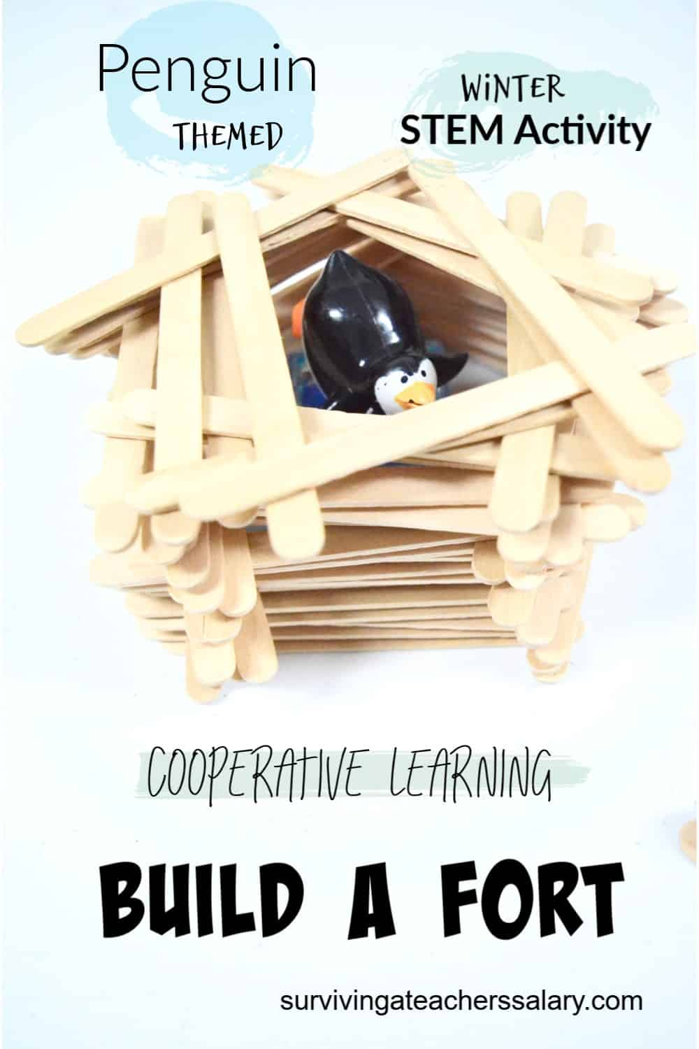 penguin fort stem activity