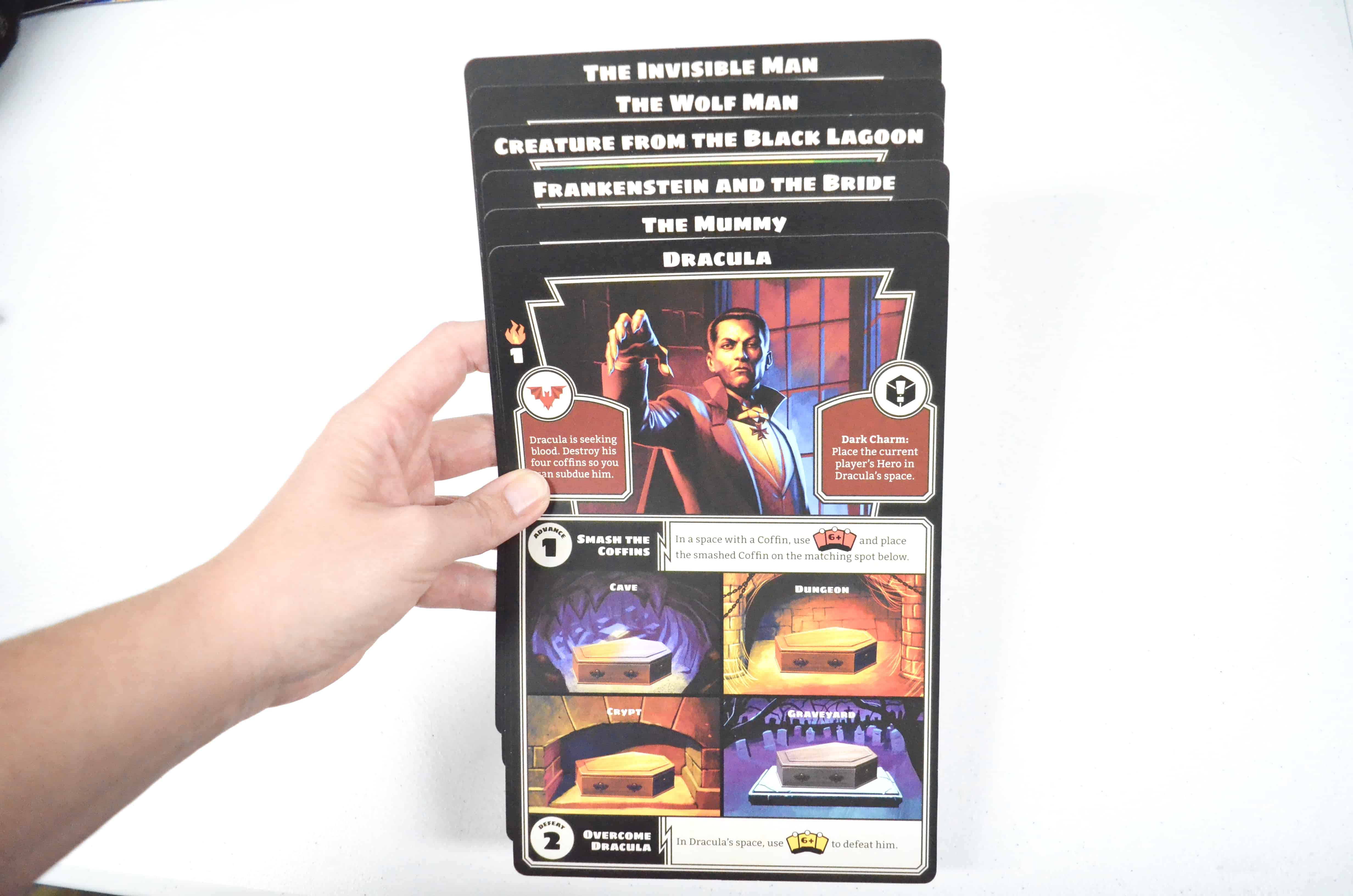horrified universal monsters board game night review