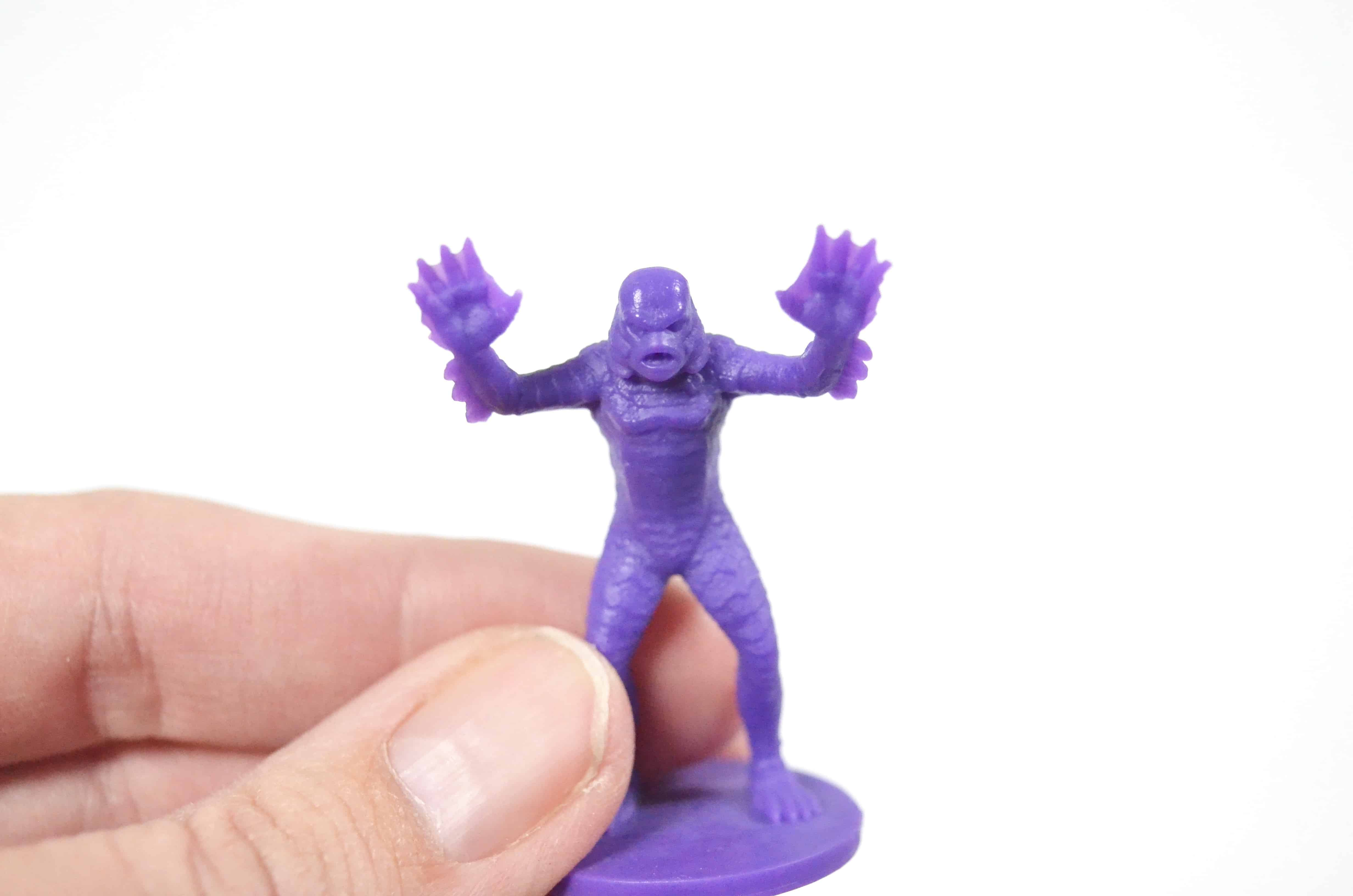 purple swamp creature game piece horrified universal monsters game