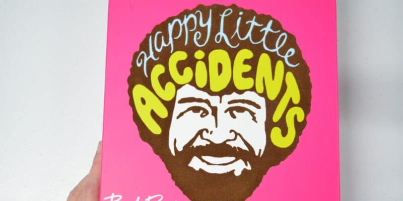 Bring Bob Ross' Happy Little Accidents Right to Your Living Room!