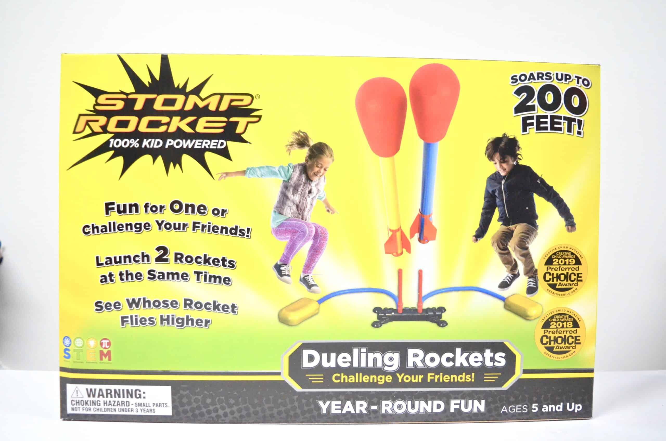 Stomp Rocket Dueling Rockets STEM Toy set