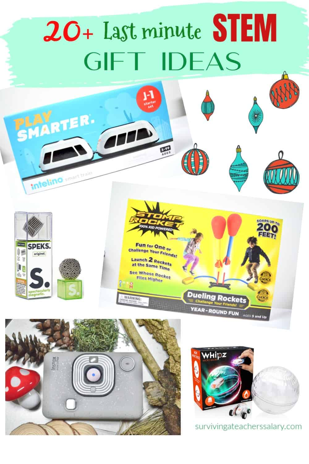 Last Minute STEM Gift Ideas for the Holidays!