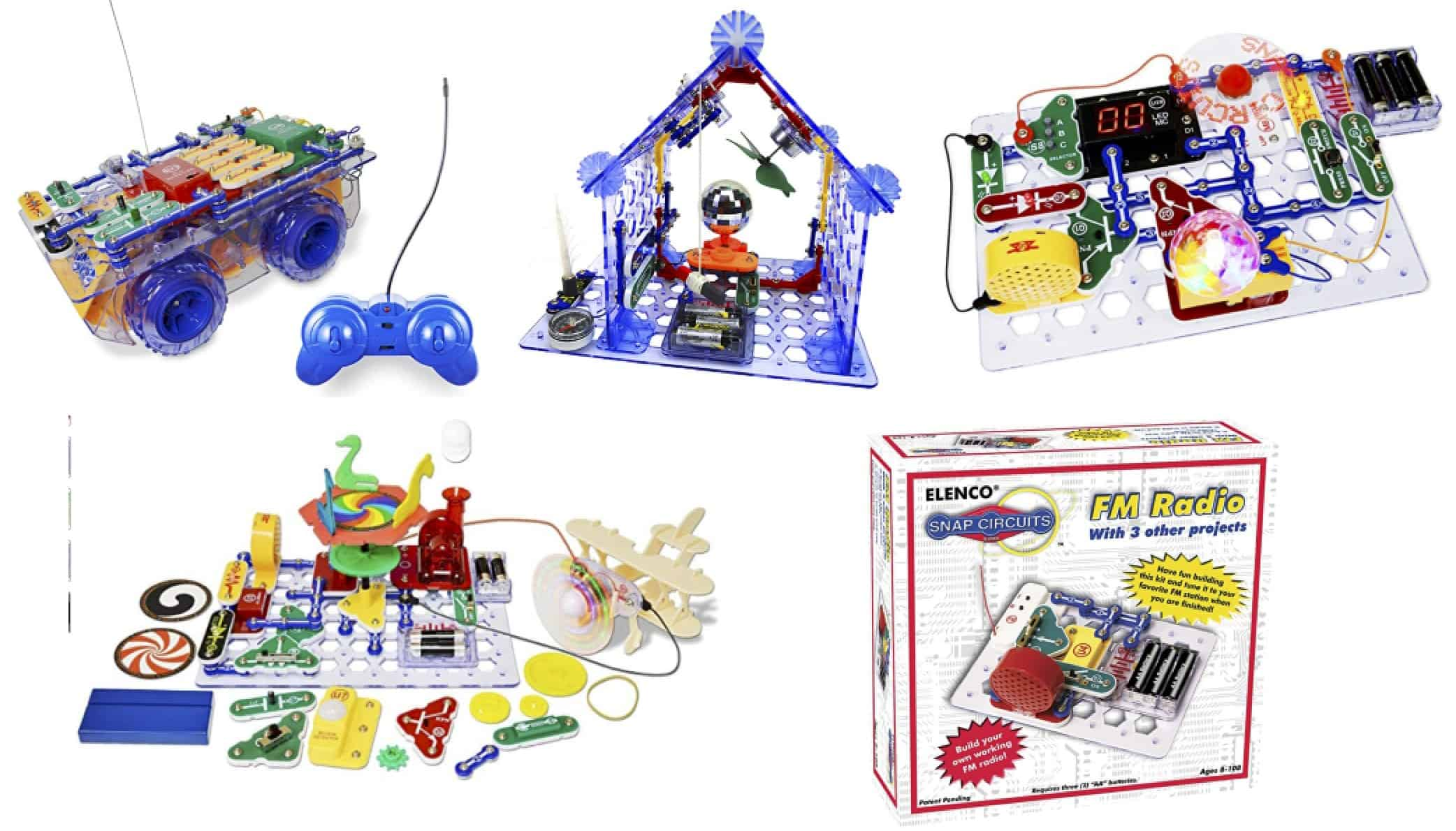 Snap Circuits STEM kits for kids
