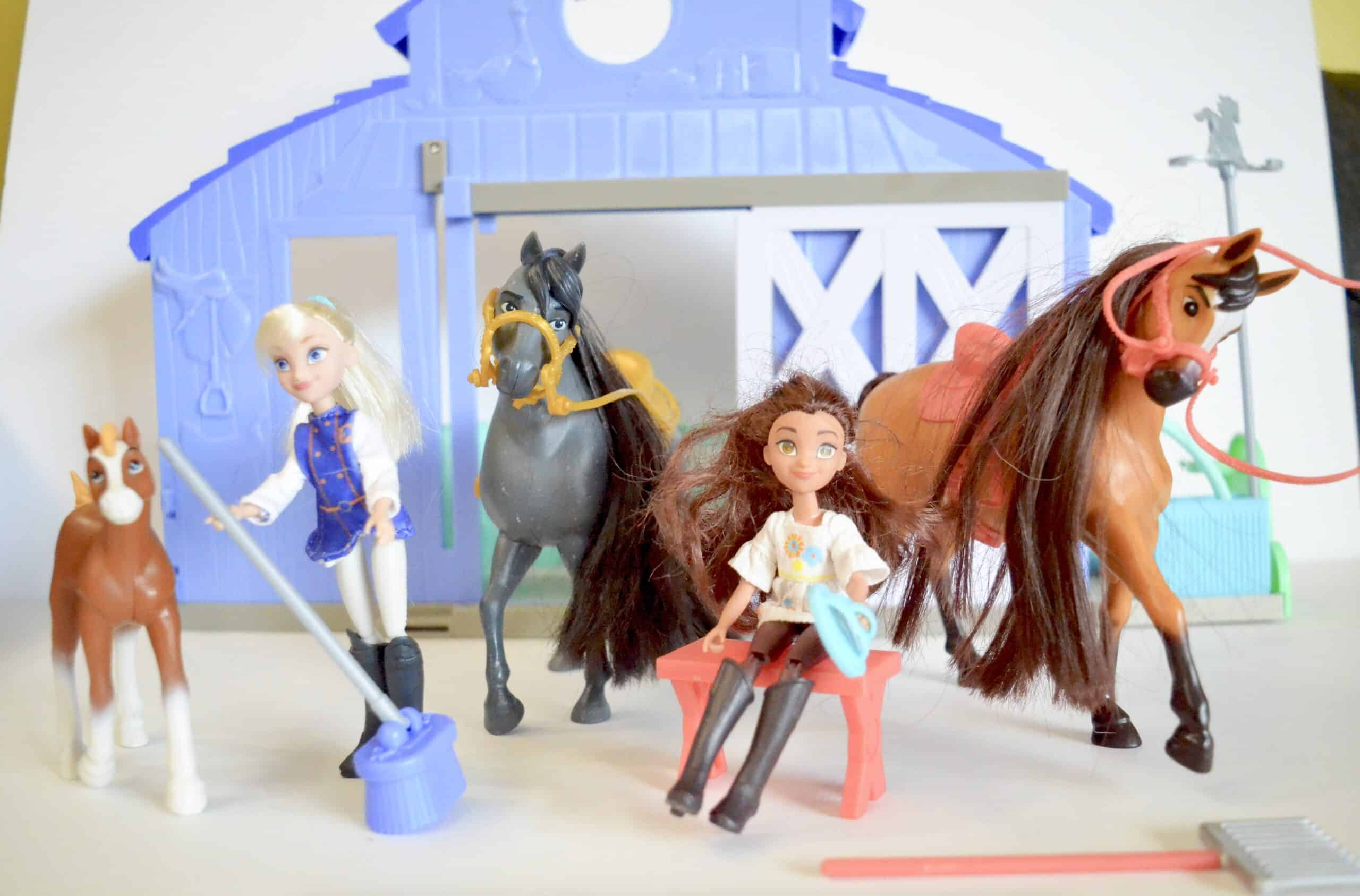 Gift Ideas For Kids Who Love Spirit Riding Free Horses Stable Kids Toys
