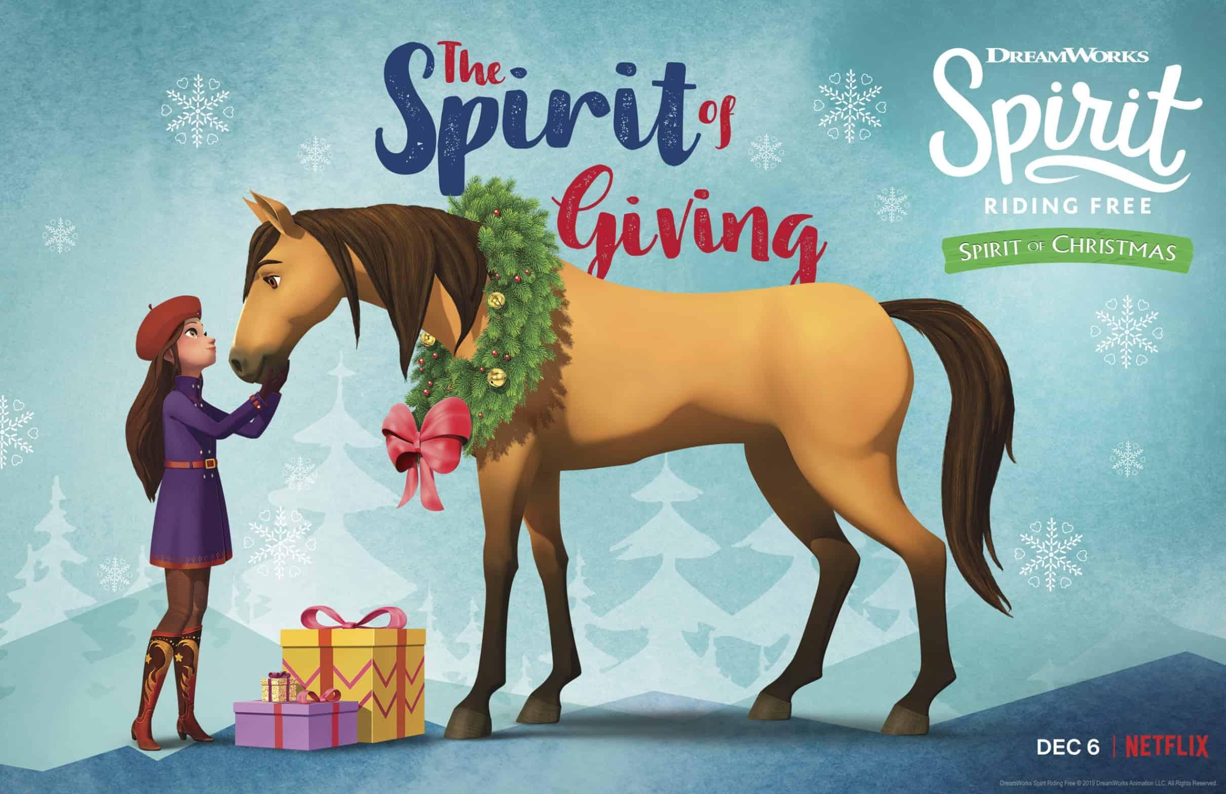Spirit Christmas show Netflix DreamWorks