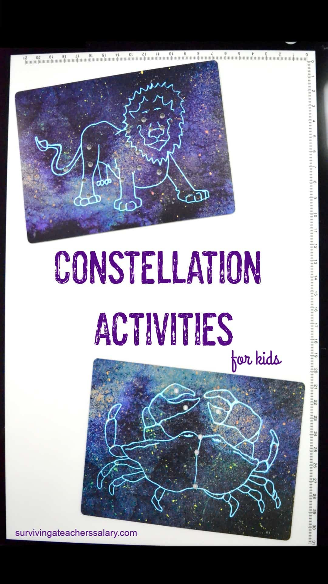 constellation cards for kids