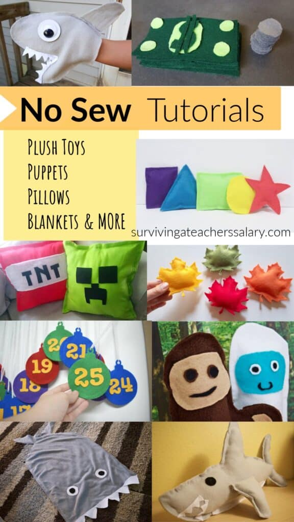 no sew toys tutorial for kids