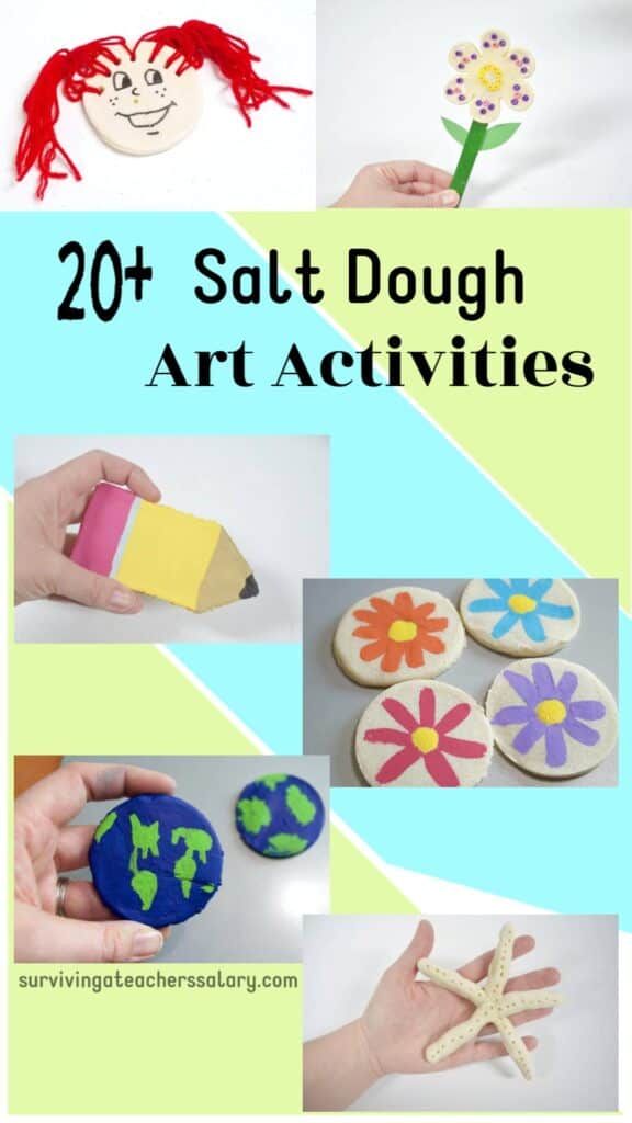 20+ Salt Dough Art Activities for Kids