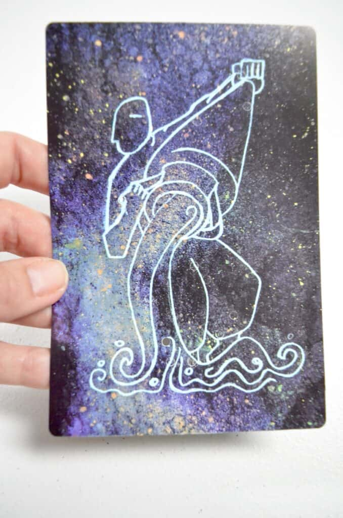 people constellation science card