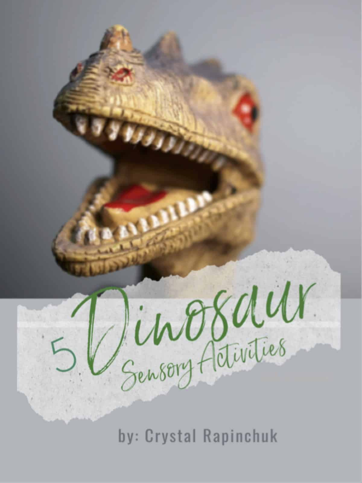 5 Dinosaur Sensory Activities eBook