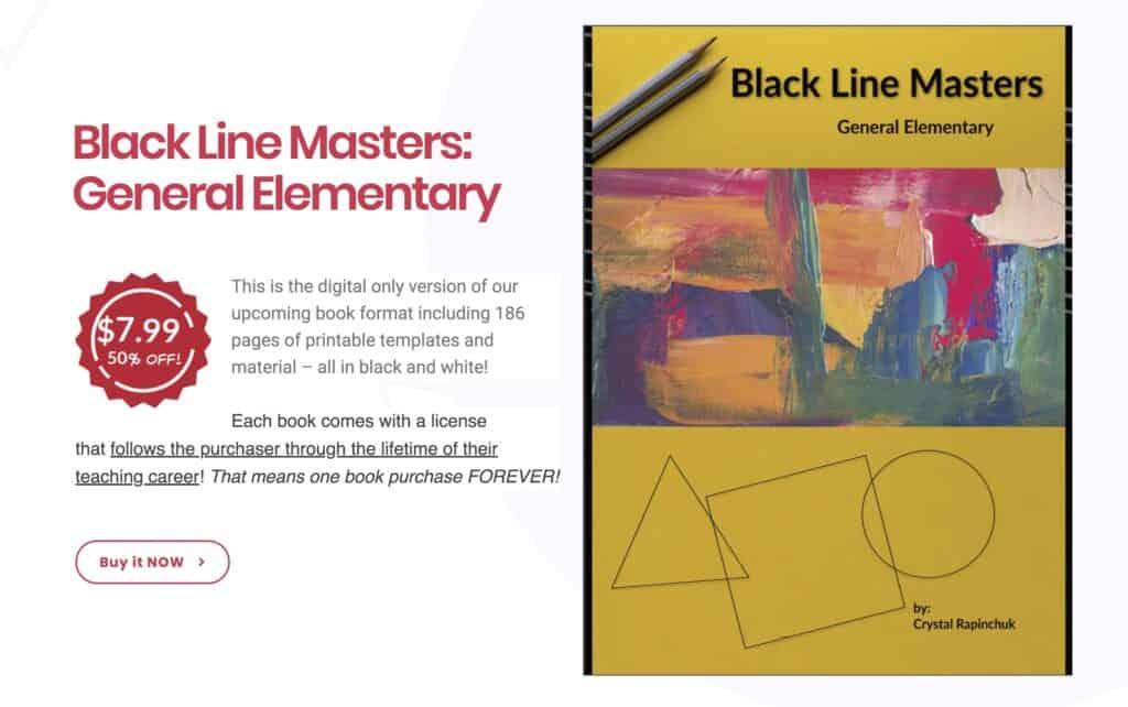 Black Line Master's Promo
