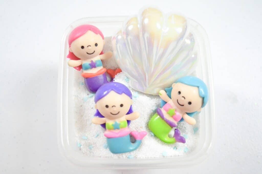 Mermaid & seashells Sensory bin