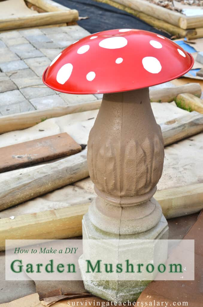 mushroom garden decor