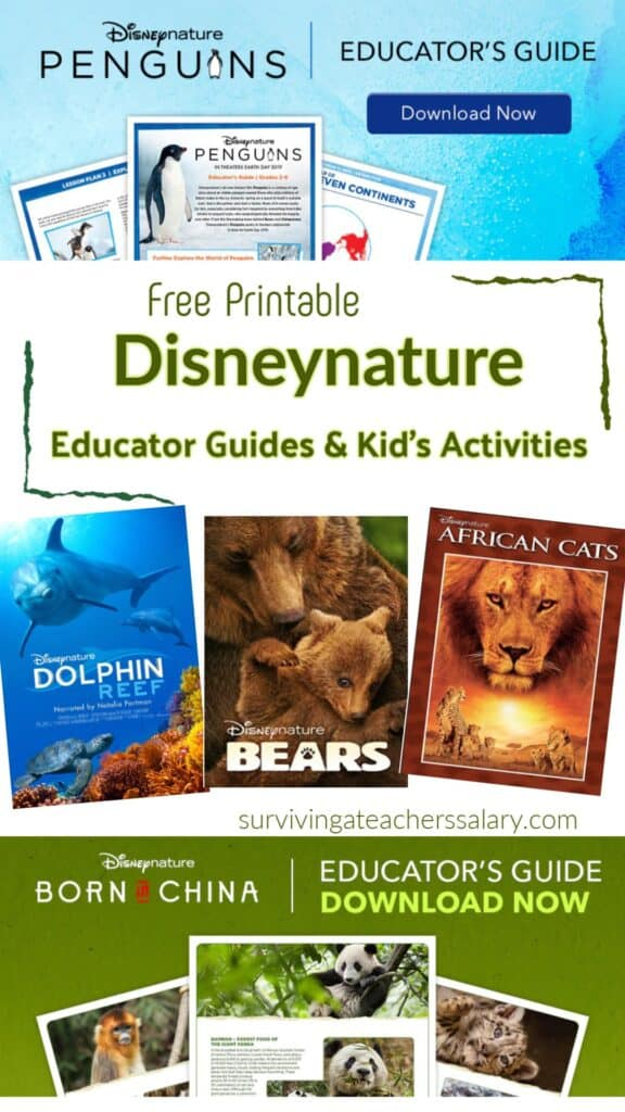 Disney Nature Videos & Printable Learning Resources