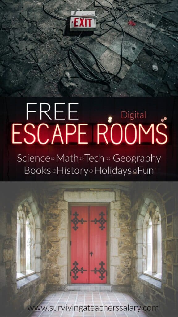 Free Digital Escape Rooms for Kids & Adults
