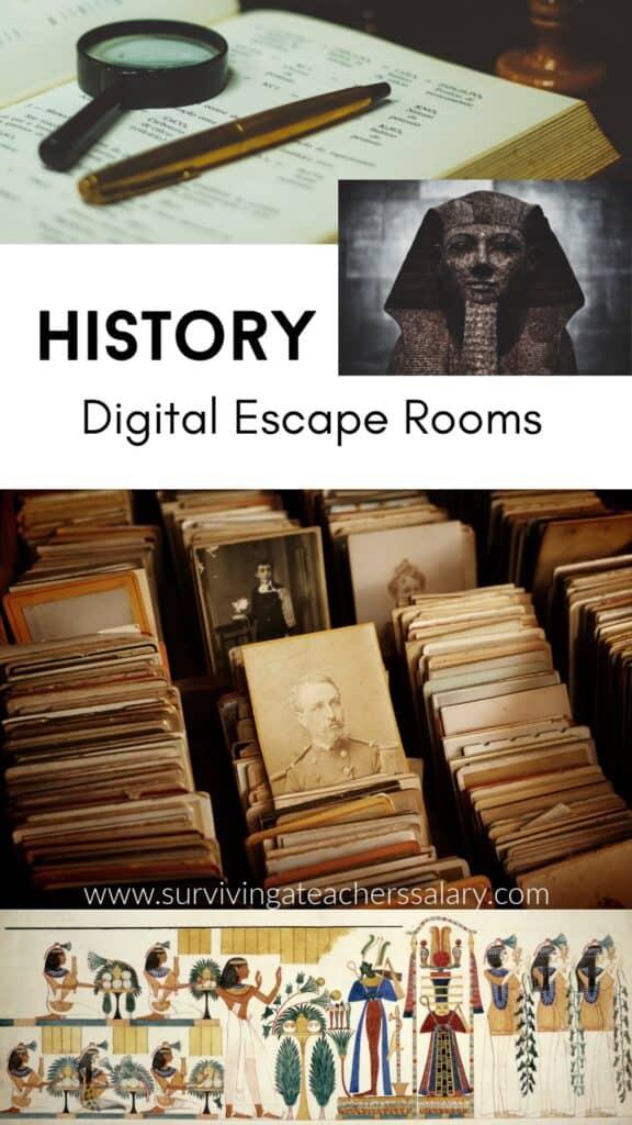 history escape rooms