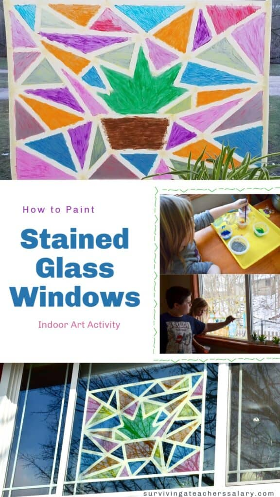 How to Paint Stained Glass Windows Art